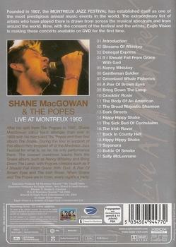 DVD Shane MacGowan & The Popes