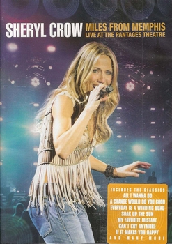 DVD Sheryl Crow - Miles from Memphis