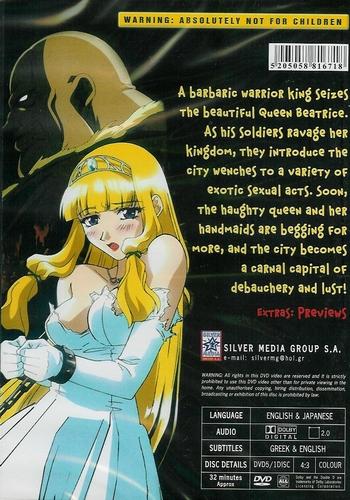 DVD Anime Hentai - City of Sin