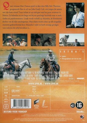 Drama DVD - All the Pretty Horses
