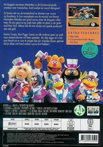 DVD Humor - The Muppets take Manhattan