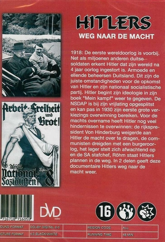 DVD documentaires - Hitlers weg naar de macht 2