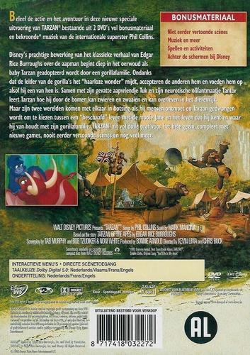 Disney DVD - Tarzan (2 DVD)