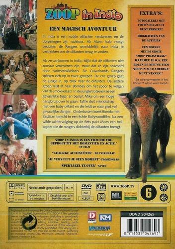 DVD Avontuur - Zoop in India