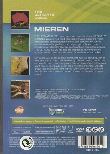 Discovery channel DVD - Mieren