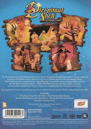 Studio 100 DVD - Piet Piraat op Mango Eiland
