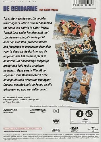 Louis de Funes DVD - De Gendarme van St.Tropez