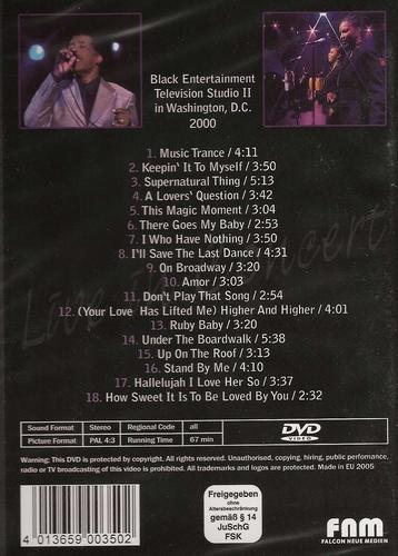 Muziek DVD - Ben E. King live in concert