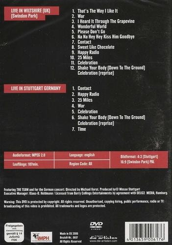 Muziek DVD - Edwin Star Live