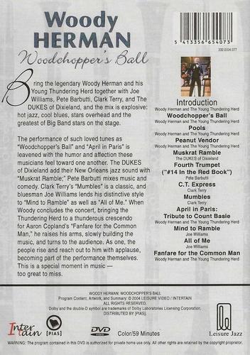 Muziek DVD - Woody Herman Woodshopper's Ball