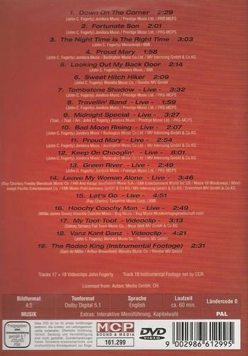 Muziek DVD - Creedence Clearwater Revival Travelin