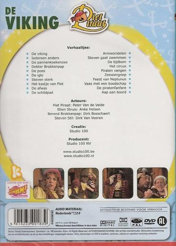 Studio 100 DVD - Piet Piraat - De Viking