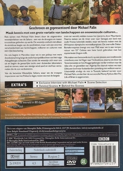 DVD Michael Palin - Sahara (2 DVD)
