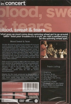 Muziek DVD - Blood, Sweat And Tears
