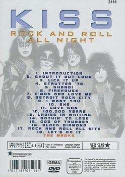 Muziek DVD - Kiss - Rock and roll all night