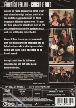 Italiaanse Film DVD - Ginger e Fred