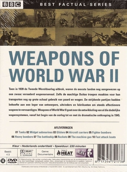 DVD documentaires - Weapons of World War II (2 DVD)