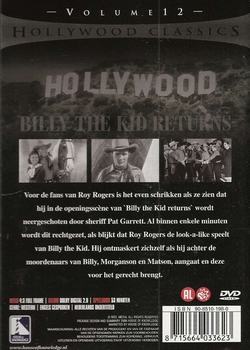 Western DVD - Billy the Kid Returns