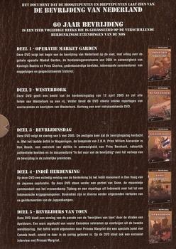 Documentaire DVD box - 60 Jaar bevrijding (5 DVD)
