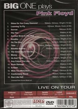 Muziek DVD - Big One plays Pink Floyd