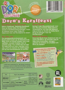DVD Dora the Explorer - Dora's Kerstfeest