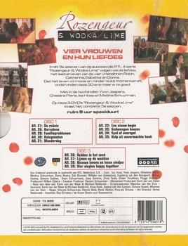 DVD TV series - Rozengeur & Wodka Lime Seizoen 3