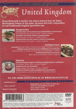 Koken DVD - Great Chefs presents United Kingdom