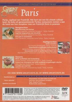 Koken DVD - Great Chefs presents Paris