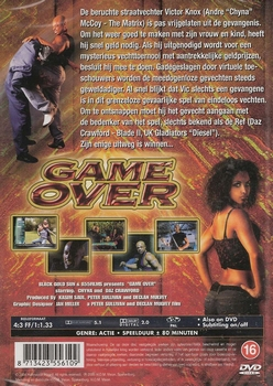 Actie DVD - Game Over