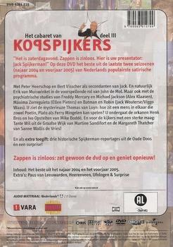 DVD Het Cabaret van Kopspijkers deel 3