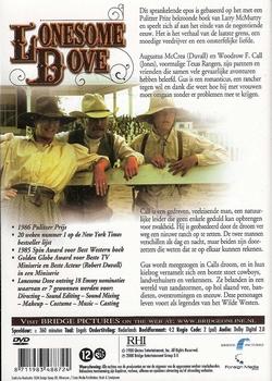 Western serie DVD - Lonesome Dove (2 DVD)