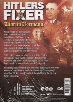 Oorlogsdocumentaire DVD - Hitlers Fixers - Martin Bormann