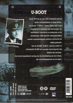 Oorlogsdocumentaire DVD - German U-Boot Waffe