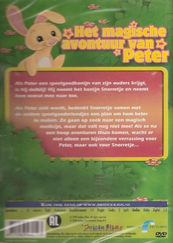 Tekenfilm DVD - Het Magische avontuur van Peter