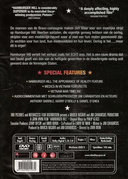 Oorlog DVD - Hamburger Hill 20th Anniversary Edition