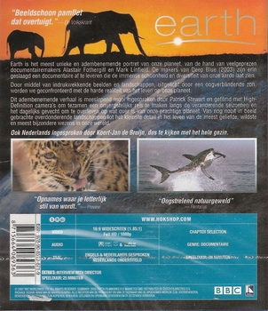 Documentaire Blu-Ray - Earth