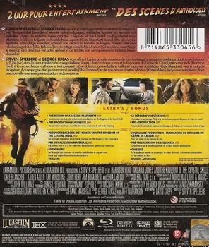 Blu-ray - Indiana Jones and the Kingdom of the Crystal Skull