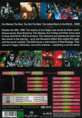 Muziek DVD - Kiss in Vegas