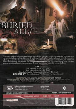 Horror DVD - Burried Alive
