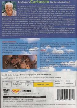 Koken DVD - Antonio Carluccio Northern Italian Feast deel 5