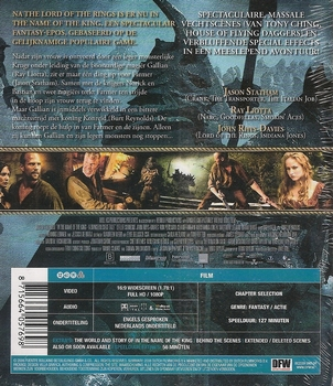 Actie Blu-ray - In the Name of the King