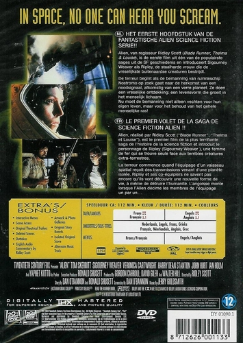 DVD Science Fiction - Alien