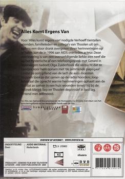 Documentaire DVD - Gerard Thoolen - Alles komt ergens van