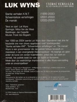 Cabaret DVD Luc Wyns - Sterke Verhalen (3 DVD)