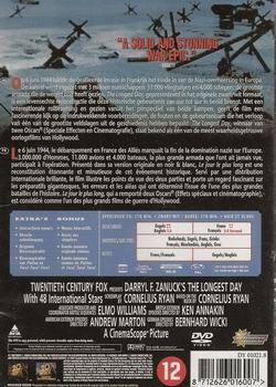DVD oorlogsfilms -The Longest Day