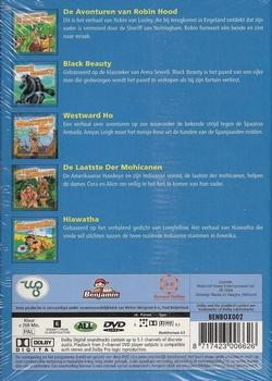Tekenfilm DVD box - De Grote Avonturen Box 1 (5 DVD)