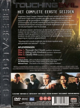 TV serie DVD - Touching Evil seizoen 1 (3 DVD)