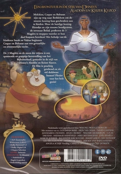 Tekenfilm DVD - De 3 Magiërs en de Steen der Wijzen