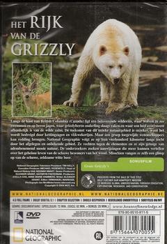 National Geographic DVD - Het rijk van de Grizzly