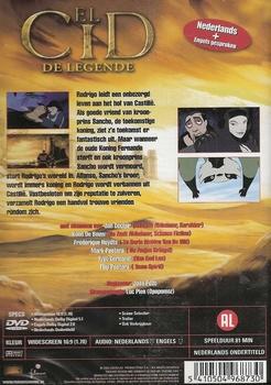 Animatie DVD - El Cid